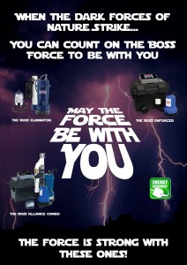 PUMP-Poster pro series pumps star wars theme web