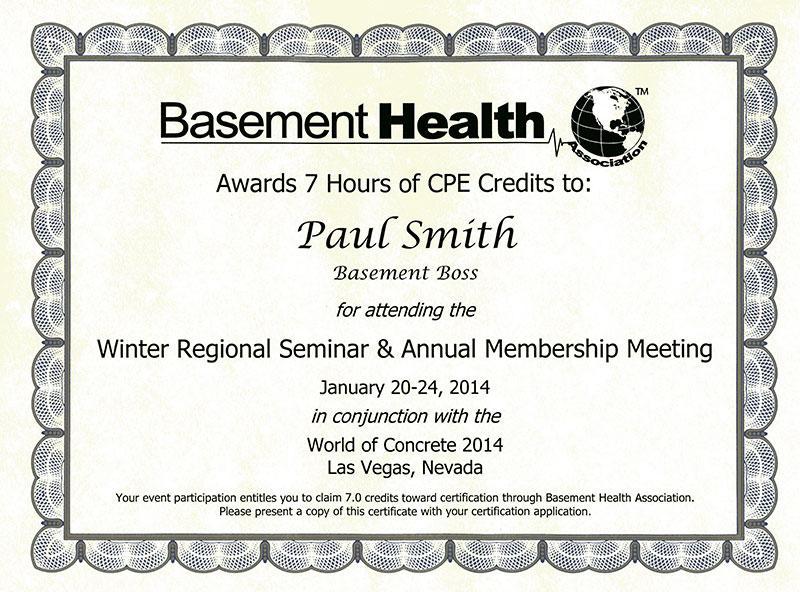 Winter Regional Seminar