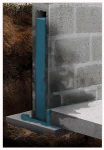 blockwall cross section