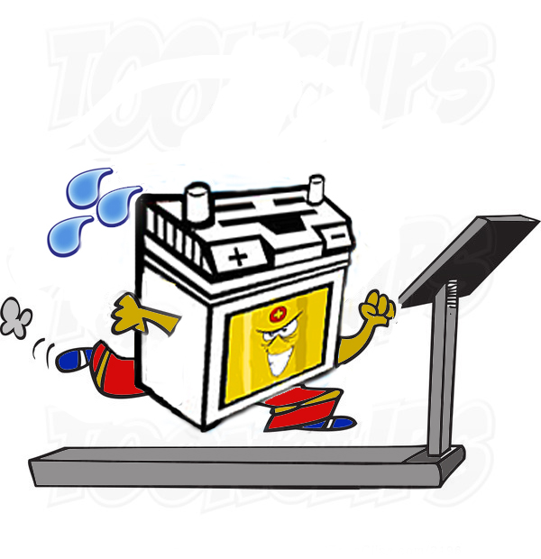 tredmill battery